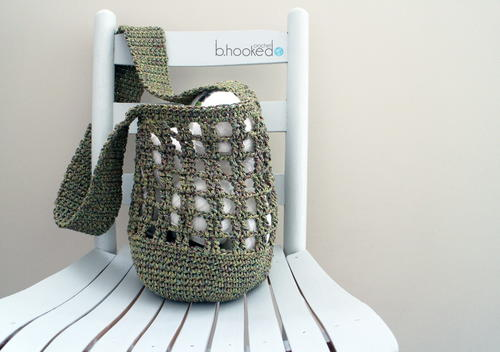Fresh Market Crochet Bag