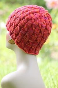 Tropical Cable Knit Hat