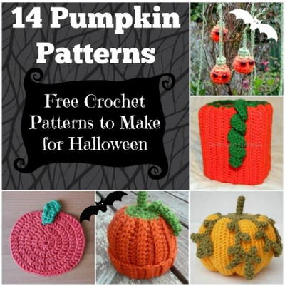 14 Pumpkin Patterns: Free Crochet Patterns to Make for Halloween
