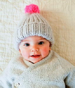Super Soft and Simple Baby Hat