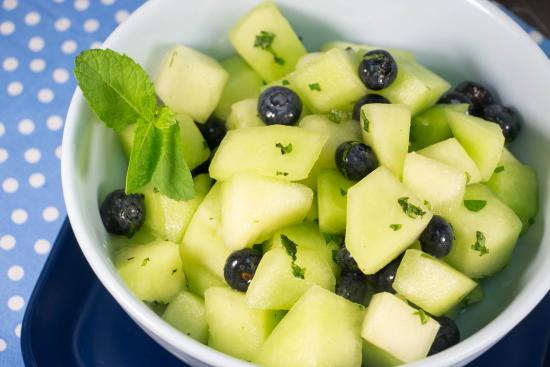 Honeydew Blueberry Summer Salad