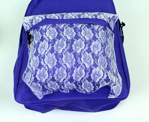 Lace Backpack Step 4