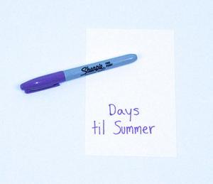 Days 'til Summer Countdown Step 2