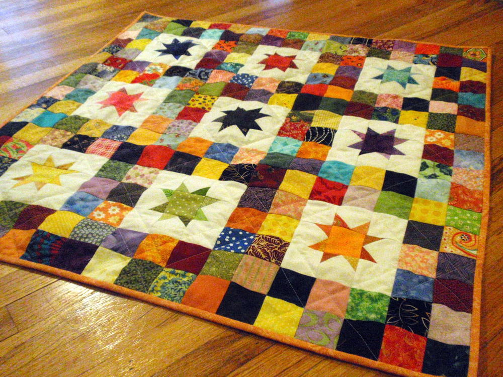 Starry Skies Baby Quilt Favequilts Com