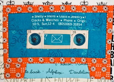 Mix Tape Quilt Block