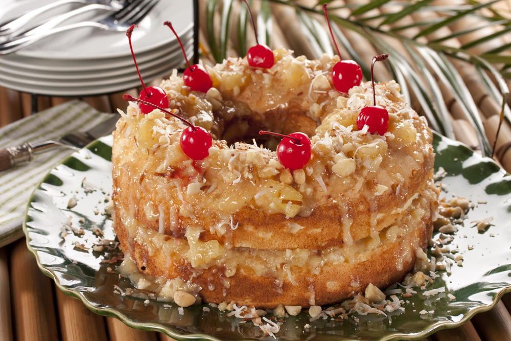 Tropical pineapple cake recipes