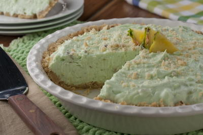 Pineapple Pistachio Pie
