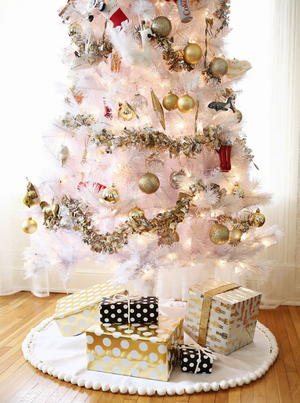 Easy No Sew Tree Skirts