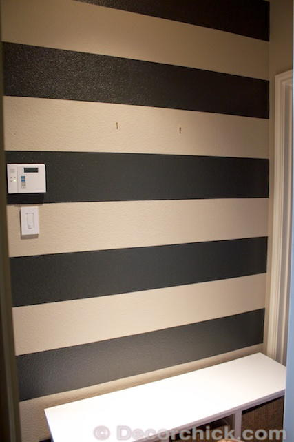 Painting Stripes On Walls Diyideacenter Com