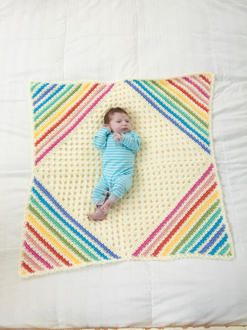 Nobody Puts Baby in the Corner Blanket