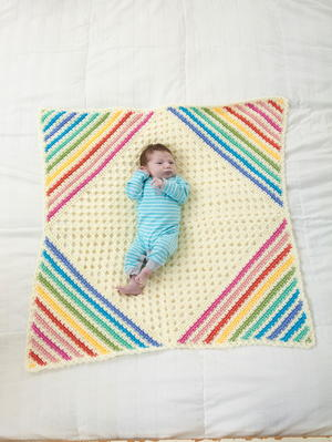 """Nobody Puts Baby in the Corner"" Blanket"