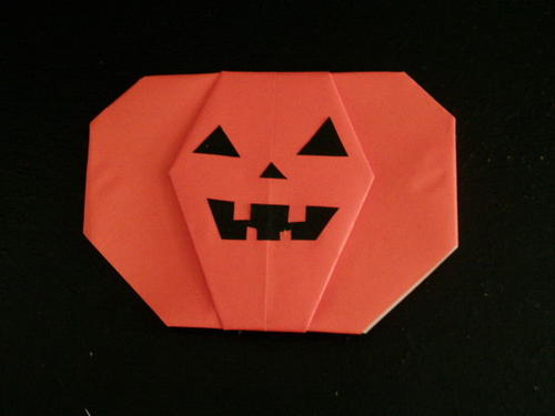 Oh-So-Cute Origami Pumpkin