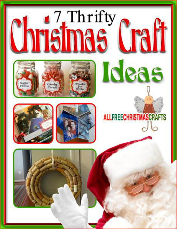 7 thrifty christmas craft ideas free ebook for Arts and crafts gifts for 7 year olds