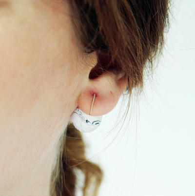 Marvelous Marbled DIY Earrings