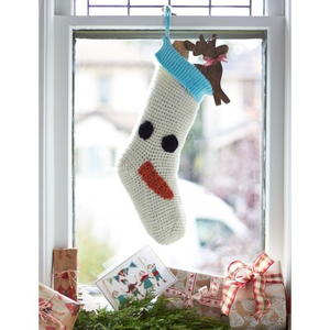 Frozen Friend Crochet Stocking