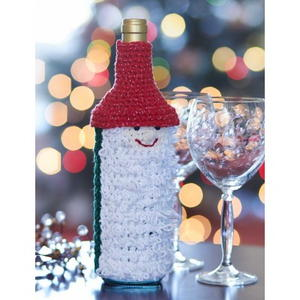 Santa's Favorite Wine Cozy
