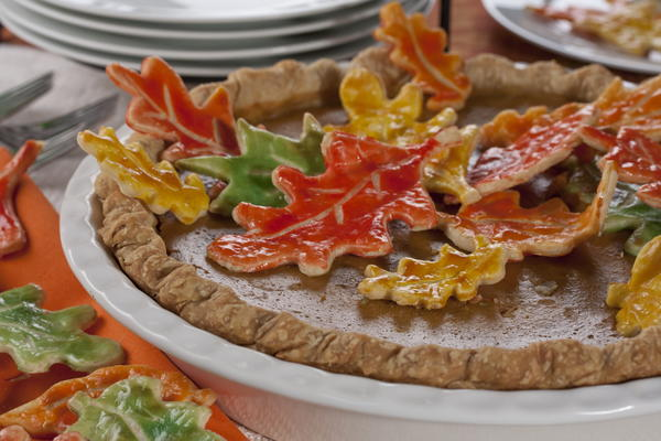 Dressed-Up Holiday Pie