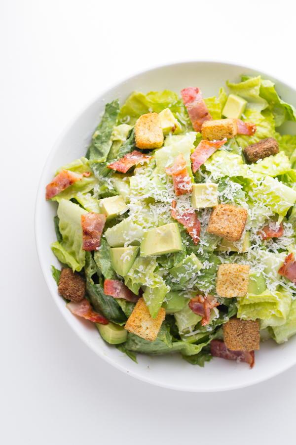 Avocado Caesar Salad Recipelion Com