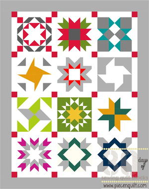 Star Sampler Quilt Pattern