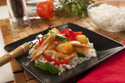 Naked Sweet and Sour Chicken