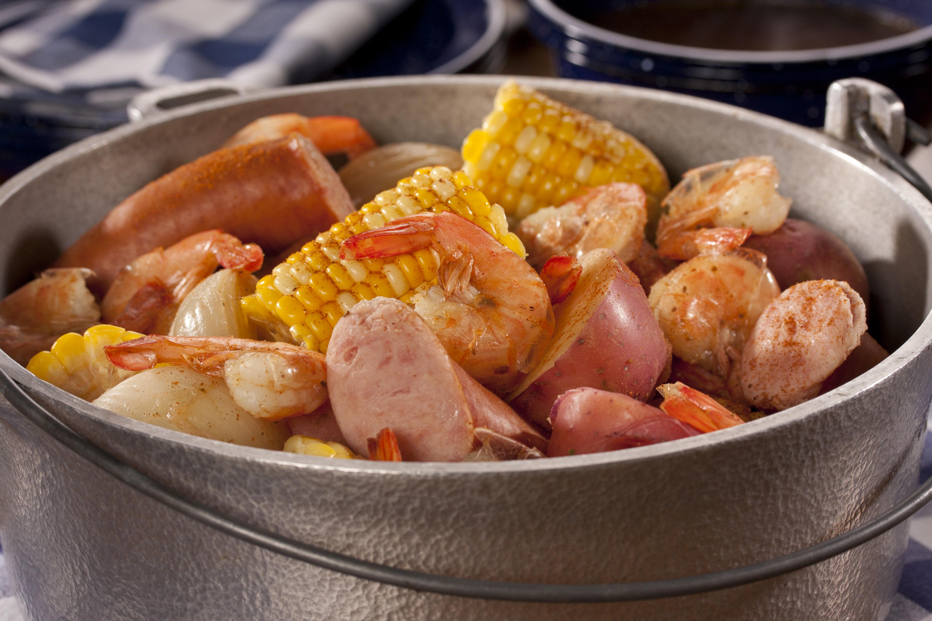Low Country Shrimp Boil Mrfood Com