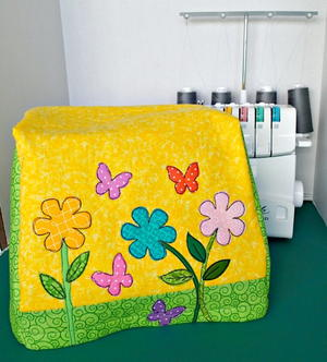 Spring Flowers Serger Cover
