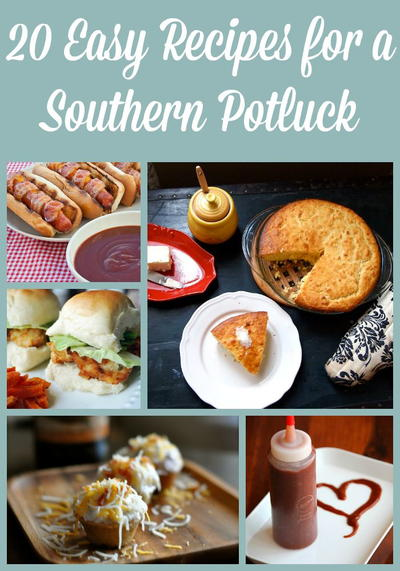 20 Easy Recipes for a Southern Potluck