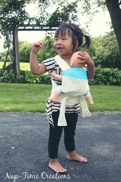 Baby Doll Carrier for Toddlers