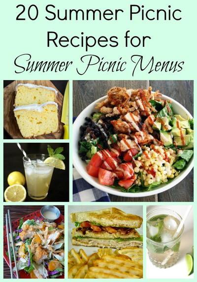 20 Summer Picnic Recipes for Summer Picnic Menus