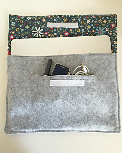 Easy DIY Laptop Case