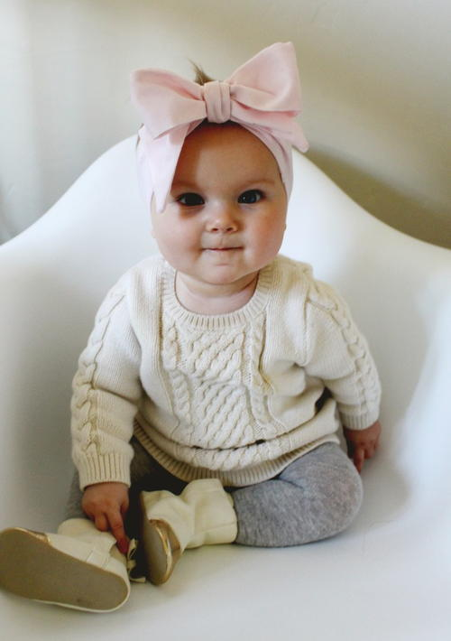 Oversized Bow DIY Baby Headband