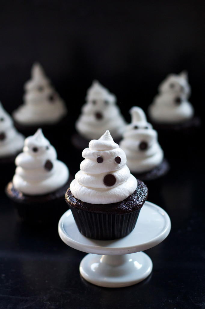 Spooky Ghost Cupcakes Recipelion Com