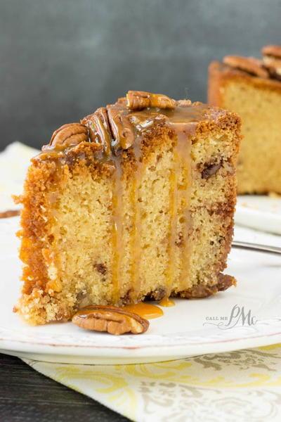 Peacan Pie Pound Cake