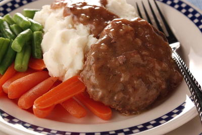 Country Style Salisbury Steak