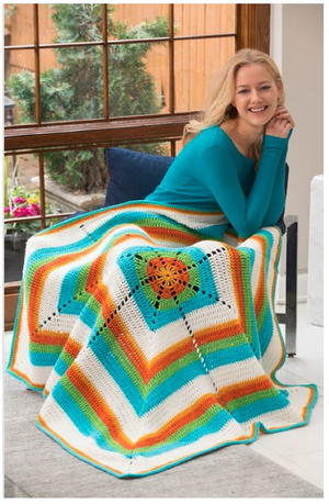 Golden Years Crochet Blanket