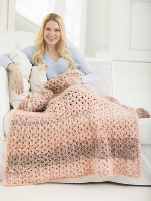 Lazy Girl Crochet Blanket Pattern