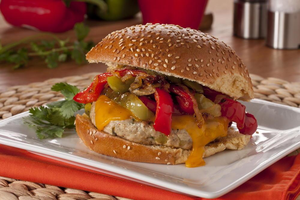 Fajita Burgers   MrFood.com