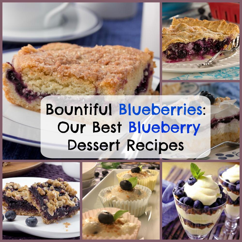 Bountiful Blueberries Our Best Blueberry Dessert Recipes Mrfood Com