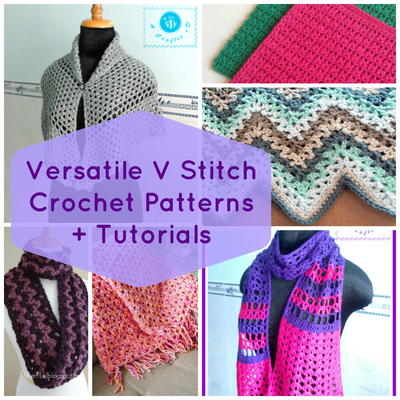 How to Crochet the V-Stitch