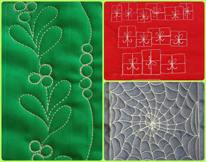 15 Free Motion Quilting Holiday Patterns Favequilts Com