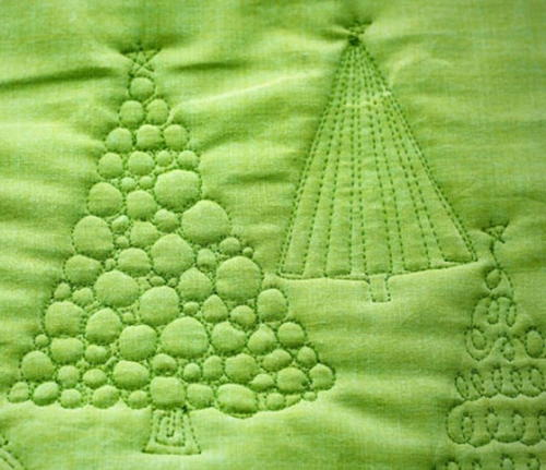 Christmas Tree Free Motion Quilting Favequilts Com
