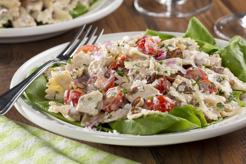 Ranch Chicken Pasta Salad | MrFood.com