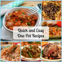 50 Quick and Easy One Pot Meals