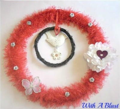 Valentines Day DIY Wreath