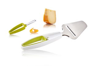 VacVin Cheese Slicer and Rind Peeler
