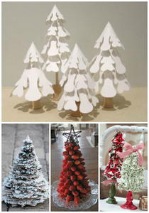 14 Small Christmas Tree Ideas: Tabletop Trees, Home Decor and More