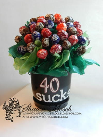 Sucker Candy Bouquet