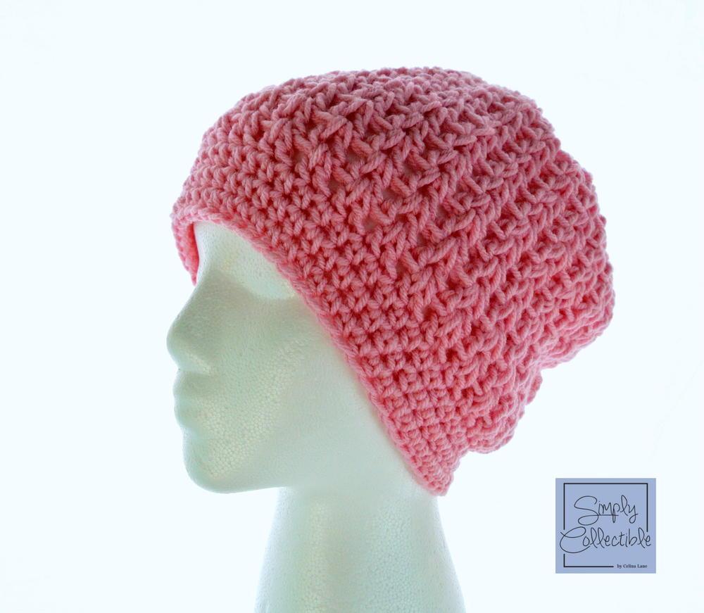 Crochet Slouch Hat: Desert Hope Crochet Slouch Beanie