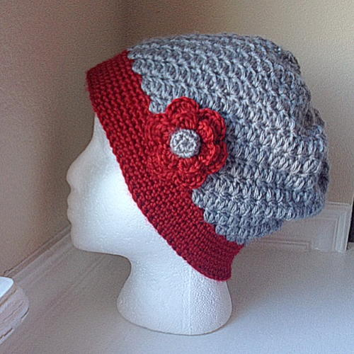 Classic Slouchy Crochet Cloche