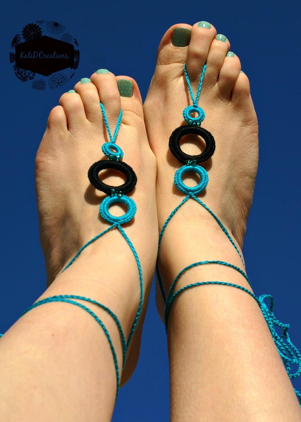 Crochet Foot Thong Allfreecrochet Com